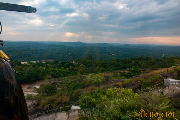 areal view from Jatayu para
